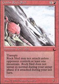 Goblin Rock Sled - The Dark