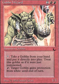 Goblin Wizard - The Dark