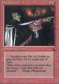 Orc General - The Dark