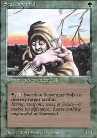Scavenger Folk - The Dark
