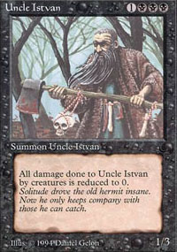 Uncle Istvan - The Dark