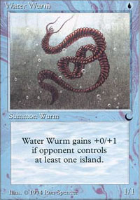 Water Wurm - The Dark