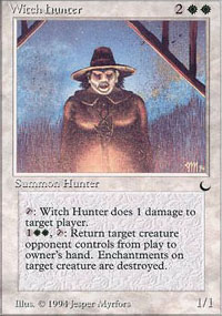 Witch Hunter - The Dark