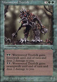 Wormwood Treefolk - The Dark