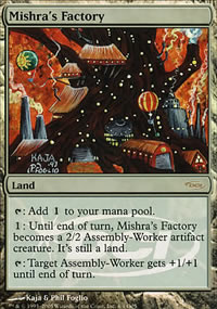 Mishra's Factory - Judge Gift Promos