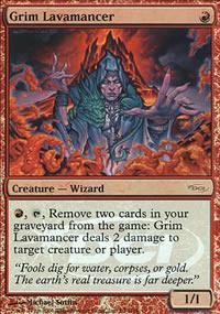 Grim Lavamancer - Judge Gift Promos