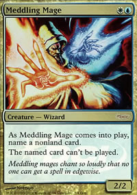 Meddling Mage - Judge Gift Promos