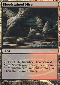 Bloodstained Mire - Judge Gift Promos