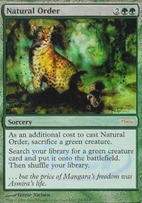Natural Order - Judge Gift Promos