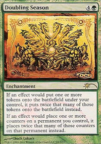 Doubling Season - Judge Gift Promos