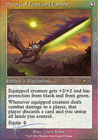 Sword of Feast and Famine - Judge Gift Promos