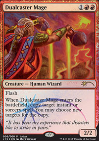 Dualcaster Mage - Judge Gift Promos