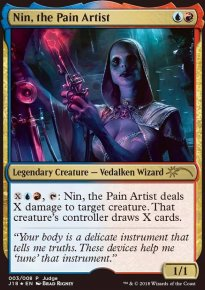 Nin, the Pain Artist - Judge Gift Promos