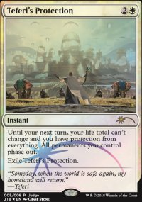 Teferi's Protection - Judge Gift Promos