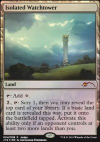 Isolated Watchtower - Judge Gift Promos
