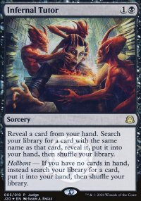 Infernal Tutor - Judge Gift Promos