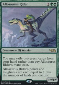Allosaurus Rider - Duel Decks : Anthology