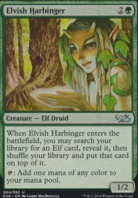 Elvish Harbinger - Duel Decks : Anthology