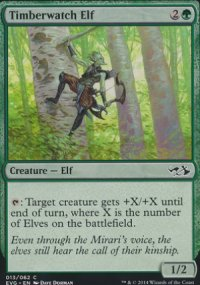 Timberwatch Elf - Duel Decks : Anthology