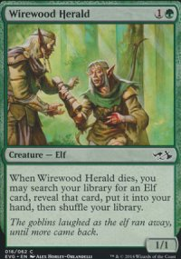 Wirewood Herald - Duel Decks : Anthology