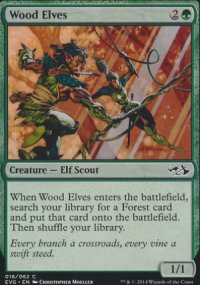 Wood Elves - Duel Decks : Anthology