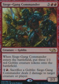 Siege-Gang Commander - Duel Decks : Anthology