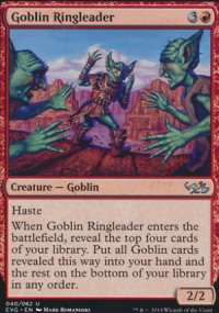 Goblin Ringleader - Duel Decks : Anthology