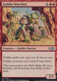 Goblin Warchief - Duel Decks : Anthology