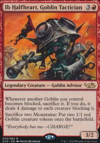 Ib Halfheart, Goblin Tactician - Duel Decks : Anthology
