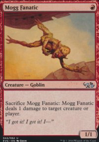 Mogg Fanatic - Duel Decks : Anthology