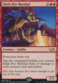 Skirk Fire Marshal - Duel Decks : Anthology