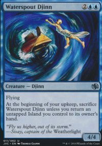 Waterspout Djinn - Duel Decks : Anthology