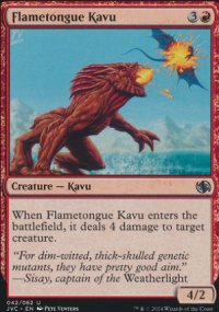 Flametongue Kavu - Duel Decks : Anthology