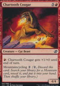 Chartooth Cougar - Duel Decks : Anthology