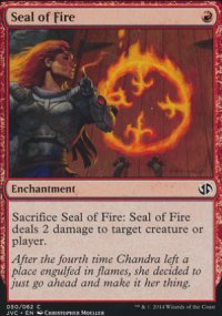 Seal of Fire - Duel Decks : Anthology