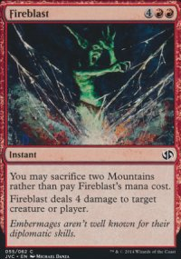 Fireblast - Duel Decks : Anthology