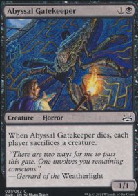 Abyssal Gatekeeper - Duel Decks : Anthology