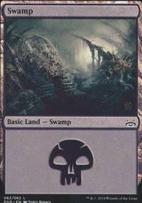 Swamp 4 - Duel Decks : Anthology