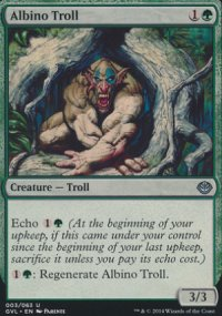 Albino Troll - Duel Decks : Anthology