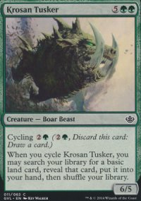 Krosan Tusker - Duel Decks : Anthology