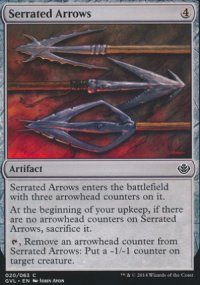 Serrated Arrows - Duel Decks : Anthology