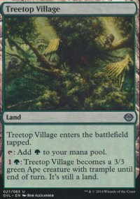 Treetop Village - Duel Decks : Anthology