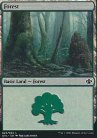 Forest 5 - Duel Decks : Anthology
