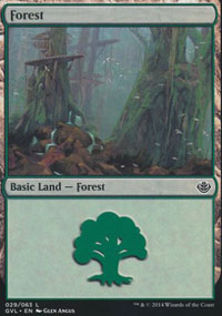 Forest 6 - Duel Decks : Anthology