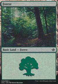 Forest 7 - Duel Decks : Anthology