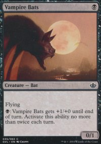 Vampire Bats - Duel Decks : Anthology