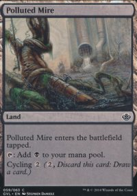 Polluted Mire - Duel Decks : Anthology