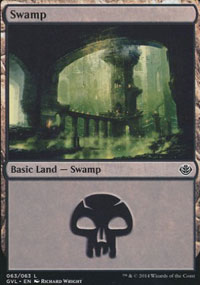 Swamp 8 - Duel Decks : Anthology