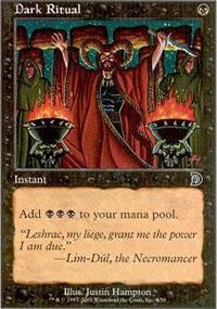 Dark Ritual - Deckmasters