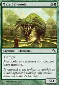 Maze Behemoth - Dragon's Maze